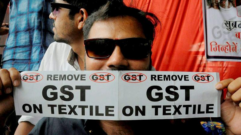 In past, textile owners had demanded government to scrap GST on textiles. (Photo: Representational/PTI)