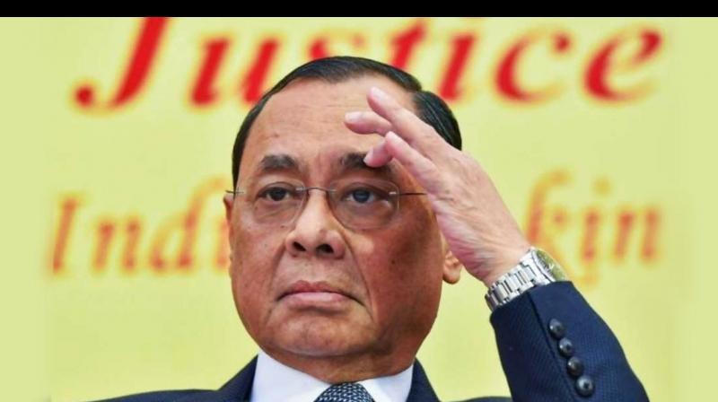 Gogoi said that over the past 40 years as lawyer and judge, it was his privilege to watch the majesty of law from close quarters. (Photo: File)