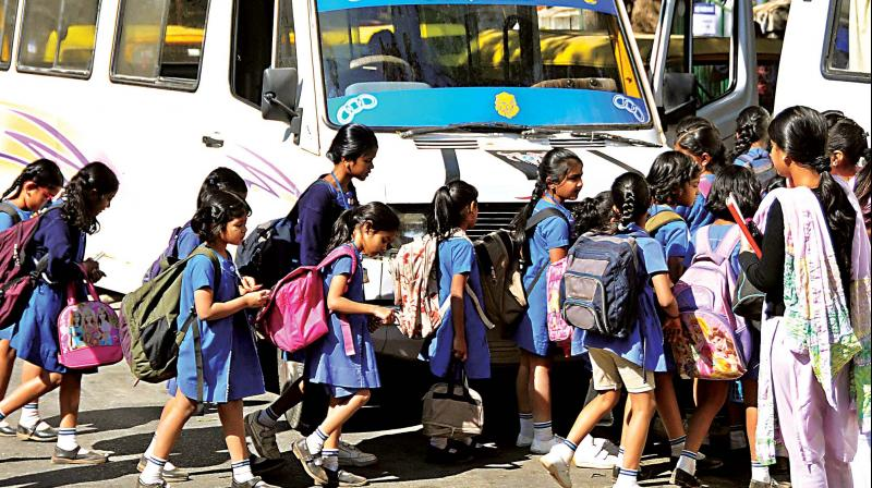 We have already asked the transport department to carry out surprise checks. The BEOs across the city have also been directed to check the vehicles and ensure that women staff is assigned to these vehicles. If there are irregularities, the transport department will take action. — Official, Primary Education Department