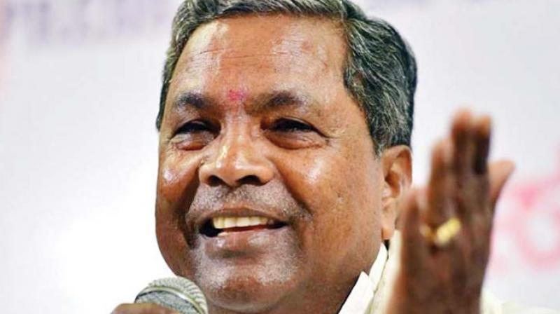 Former chief minister Siddaramaiah