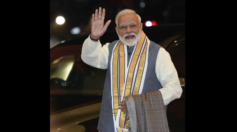 According to Pal, Modi's rise to political leadership coincided with the expanding use of social media in India. (Photo:PTI)
