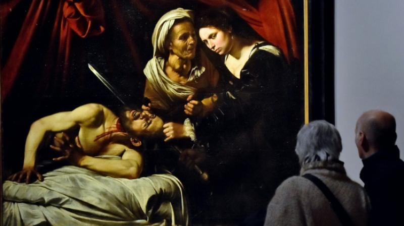 Caravaggio's best works resemble scenes on a macabre theatre stage. (Photo: AFP)