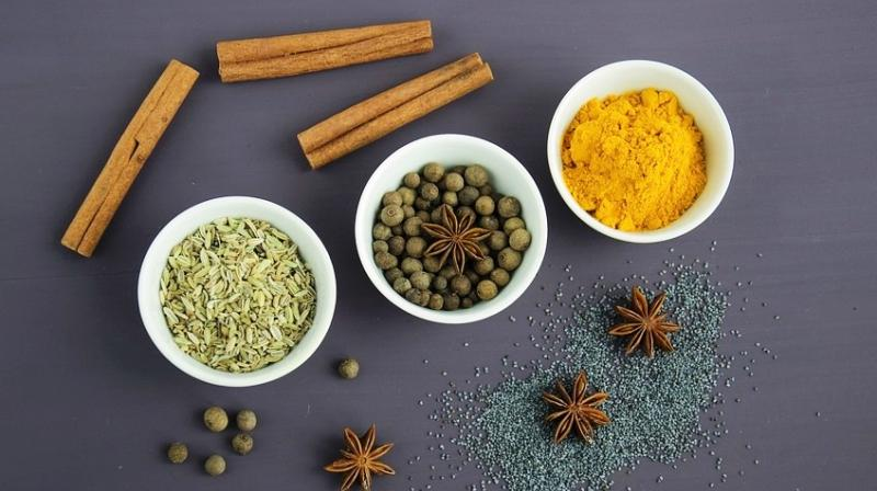 Herbs and spices have rejuvenating, anti-ageing and antioxidant properties, which helps in improving the health of the skin. (Photo: Representational/Pixabay)
