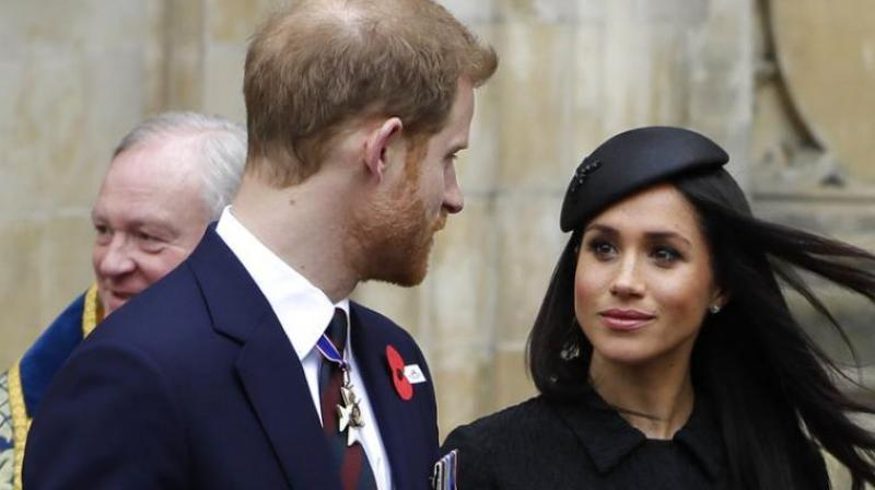 Prince Harry and Meghan Markle. (Photo: AP)