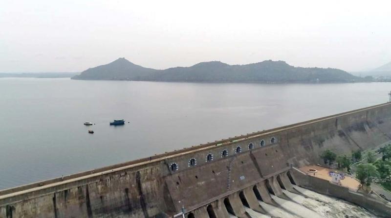 Brimming Mettur dam. (Photo: DC)
