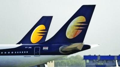 Friday's afternoon session the Jet Airways stock saw over 100 per cent variation in scrip pice between the two ends amid huge volumes. (Photo: File)