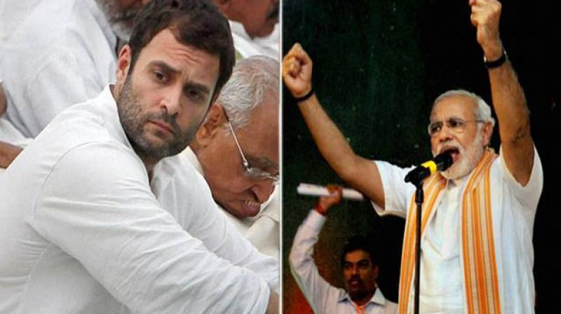 Rahul Gandhi has earlier termed the Goods and Services Tax as 'Gabbar Singh Tax' to attack the government. (Photo: PTI)