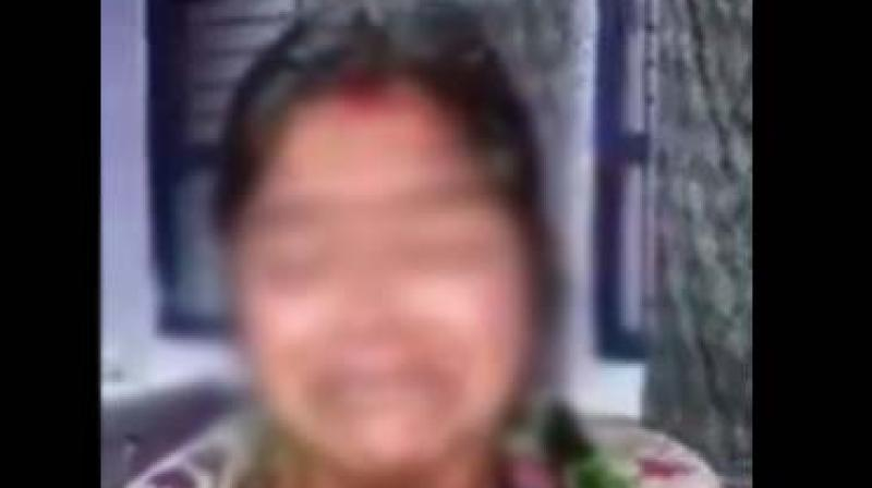 Woman Assaulted And Paraded Nearly Naked by Liquor Mafia in Delhi