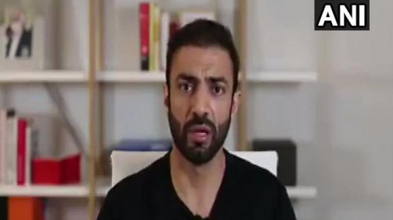 'The Baloch Republican Party and World Baloch Organisation have started an international awareness campaign (in this regard),' President of Baloch Republican Party Brahumdagh Bugti said in a video message. (photo: ANI)