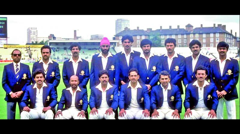 A file photo of India's 1983 World Cup winning squad.