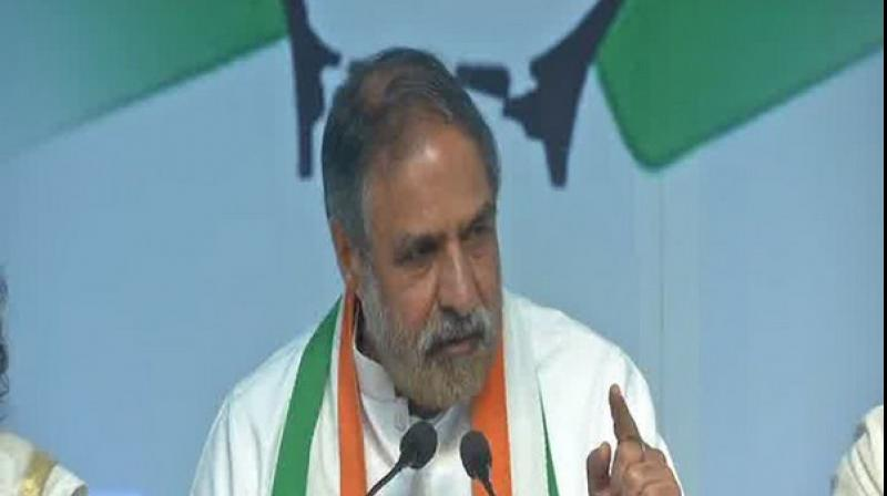According to Sharma, the decision of the Prime Minister Narendra Modi-led government at the Centre of buying the jets has resulted in a loss not only in national exchequer but also in a loss of technology transfer in the manufacture of 108 fighter jets by public-sector Hindustan Aeronautics (HAL) (Photo: ANI)