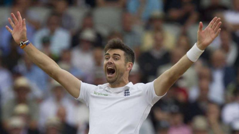 Anderson grabbed the top spot after his superb effort in the third and final Test at Lord's helped England win by nine wickets to seal a 2-1 series victory over the Windies.(Photo: AP)