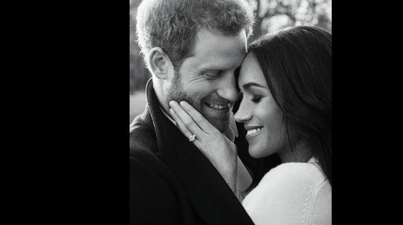 The bride and groom will spend the night before the wedding apart and Harry's first glimpse of the dress will be as Meghan walks up the aisle. (Photo: AP)