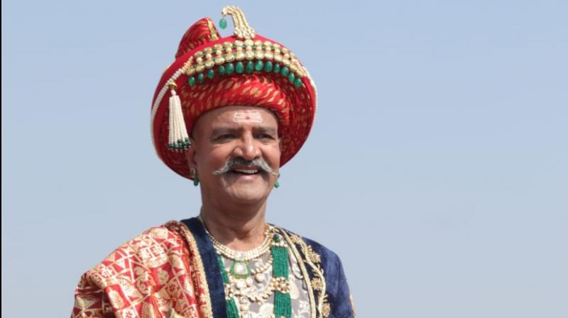 Vijay Kashyap as Peshwa Bajirao in 'Khoob Ladi Mardaani Jhansi Ki Rani'