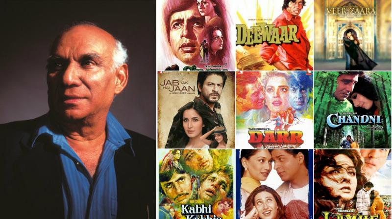 Yash Chopra and his eternally charming films will be forever engraved in our hearts.