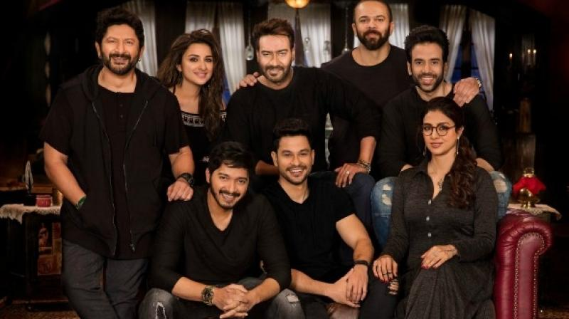 Golmaal Again trailer is currently setting records in terms of views on YouTube.