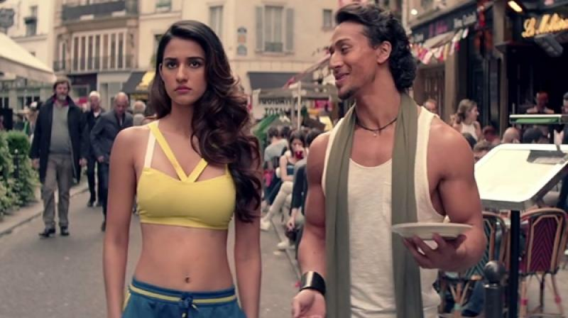 Image result for disha patani and tiger