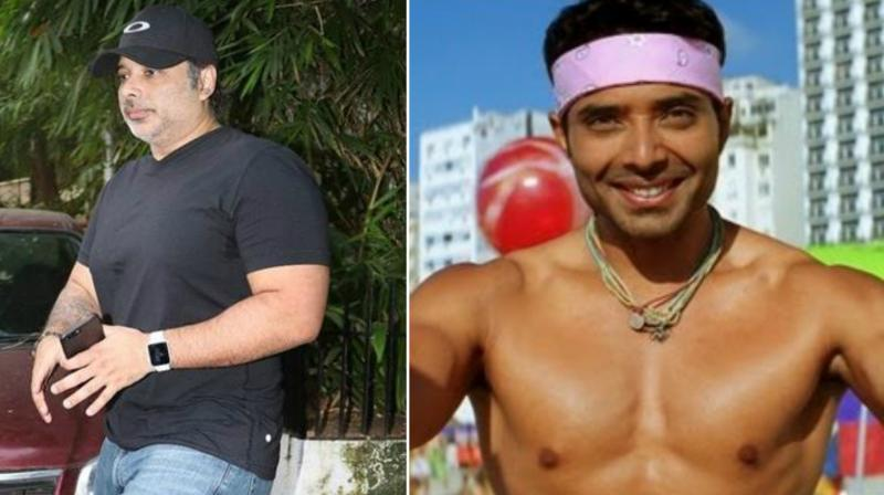 Uday Chopra is getting trolled on social media over his physique. (Right) The actor in 2006's Dhoom 2.