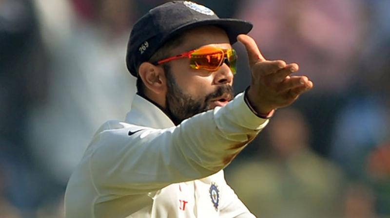 """Virat Kohli has found himself embroiled in a controversy over his """"I don't think you should live in India"""" response to an enthusiast who called the skipper overrated while expressing his admiration for English and Australian batsmen. (Photo: AFP)"""