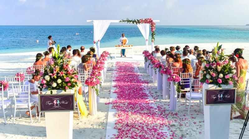 Destination weddings becoming a growing trend. (Photo: Pixabay)
