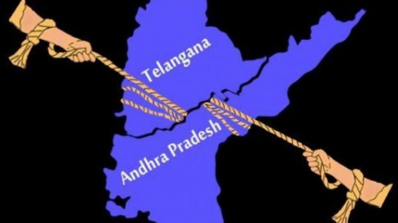 There are 12,751 gram panchayats in Telangana and 12918 gram panchayats in AP.