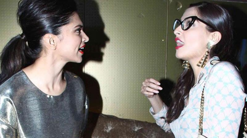 Image result for sonam kapoor and deepika