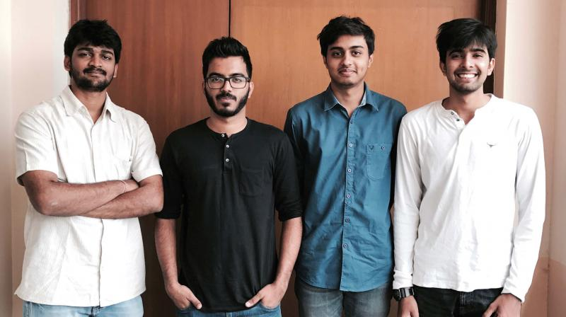 Akshay Kumar, Saahil Kamath, Rahul B Prakash and Aviral