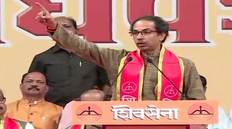 A few hours ahead of the crucial verdict on the Ayodhya land dispute, the Shiv Sena on Friday said that the government cannot take credit for the Supreme Court's decision to be announced tomorrow as it did not make a law on construction of Ram temple despite his party's several appeals. (Photo: File)