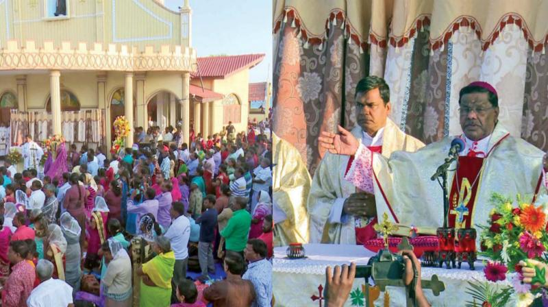 Scenes from  St Anthony's church fest at Katchatheevu.  	—DC