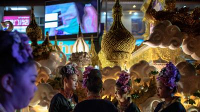 Chiang Mai is considered as one of the best places to experience the Loy Krathong festival in Thailand which is celebrated on the first full moon of the 12th traditional Thai calendar and which includes a theme float parade through town. (Photo: AFP)