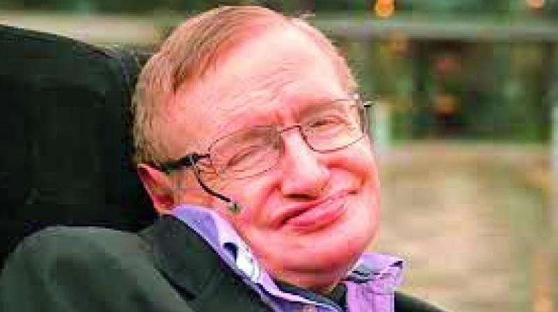 renowned British physicist Stephen Hawking has warns that the aggressive instincts of humans, coupled with the fast pace of growth in technology may destroy us all by nuclear or biological war.