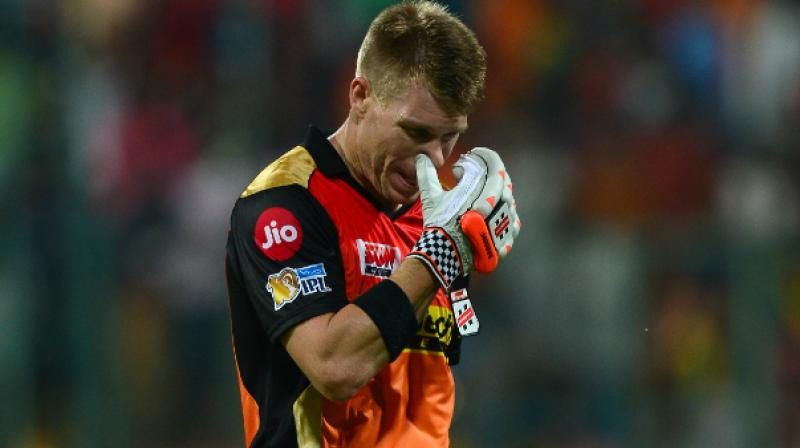 Australian cricketer David Warner steps down as captain of IPL side