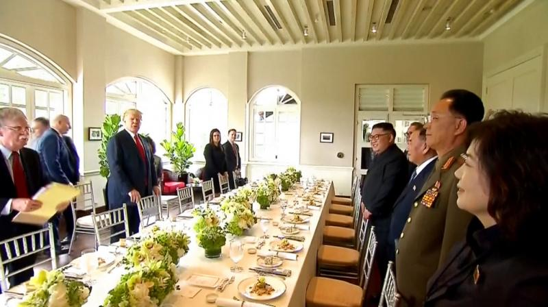 #TrumpKimSummit - This is what Trump and Kim ate at Lunch - Read the whole Food Menu inside