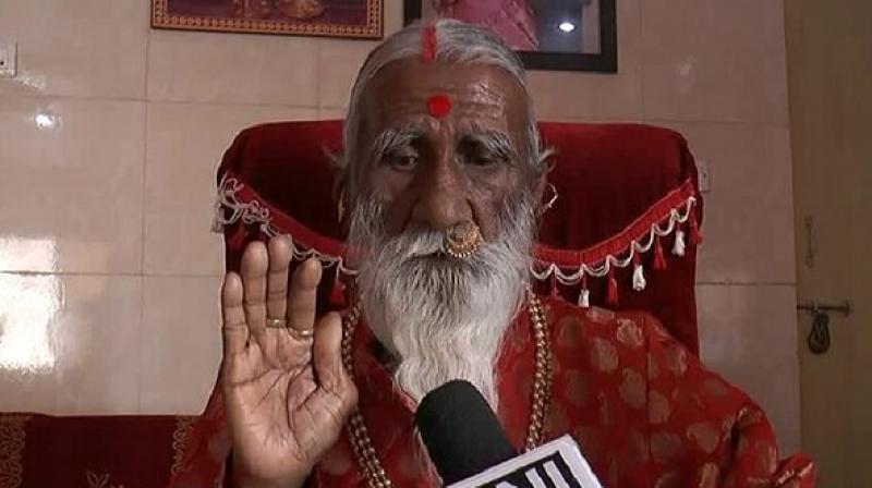 Yogi from Gujarat, Prahlad Jani, is referred to as 'Mataji' by his devotees. (Photo: ANI)