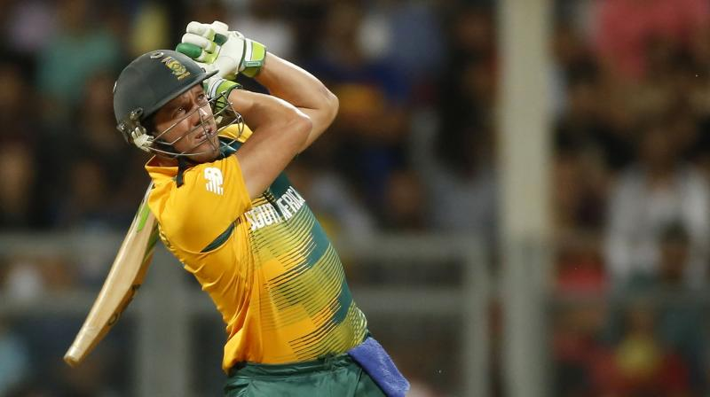 De Villiers has scored 9,515 runs in 225 ODIs at an average of more than 54 and a strike rate of 101. (Photo: AP)