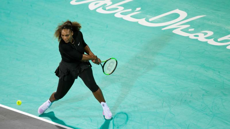 Serena Williams had initially targeted last month's Australian Open for a comeback, but abandoned that ambitious goal after declaring she was not