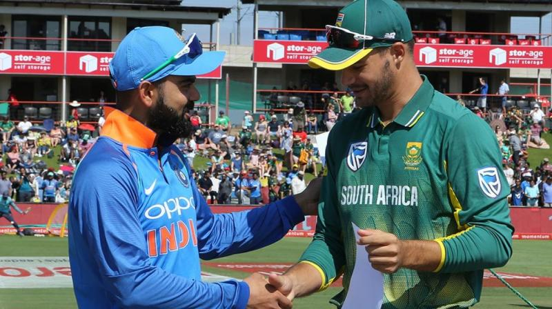 Late hitting heroics keep South Africa alive in ODI series against India