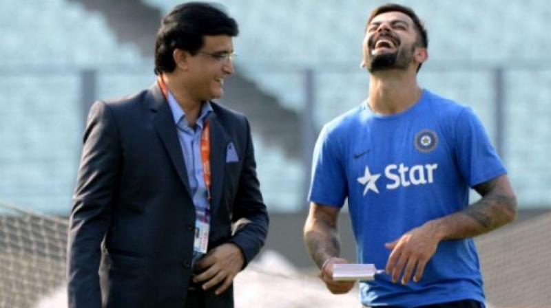 Virat Kohli's unbeaten 160 runs received praises from former skipper Sourav Ganguly (Photo: AFP)