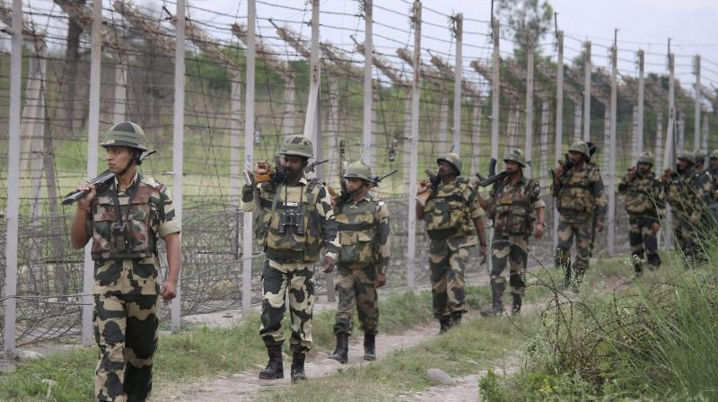 An Army jawan and a civilian porter were killed in Pakistani firing along the Line of Control (LoC). (Representational Image)
