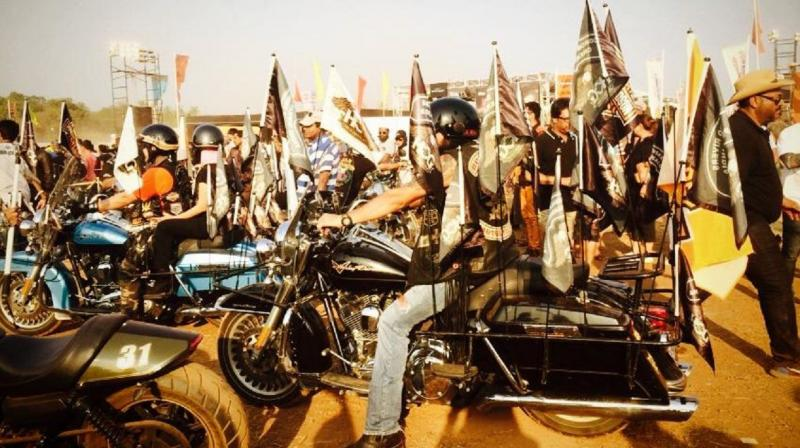 The rally has grown from strength to strength as the number of Harley-Davidson buyers and H.O.G. participants have constantly increased.