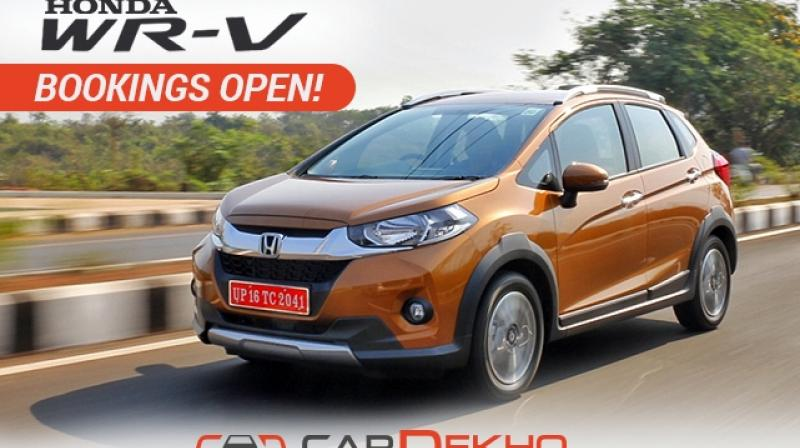 Honda Will Launch Wr V On March 16 2017 Bookings Open