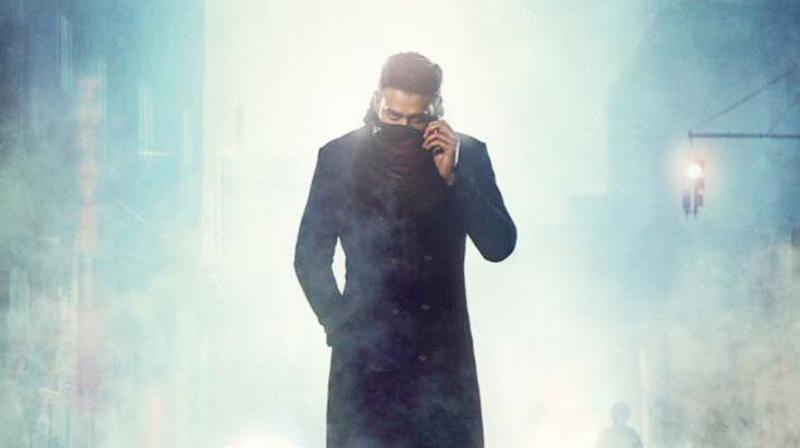 Poster of Saaho.