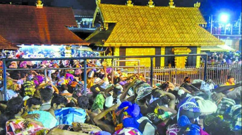 A Sabarimala tale: When the celibate god rewarded an actress for touching his feet thumbnail