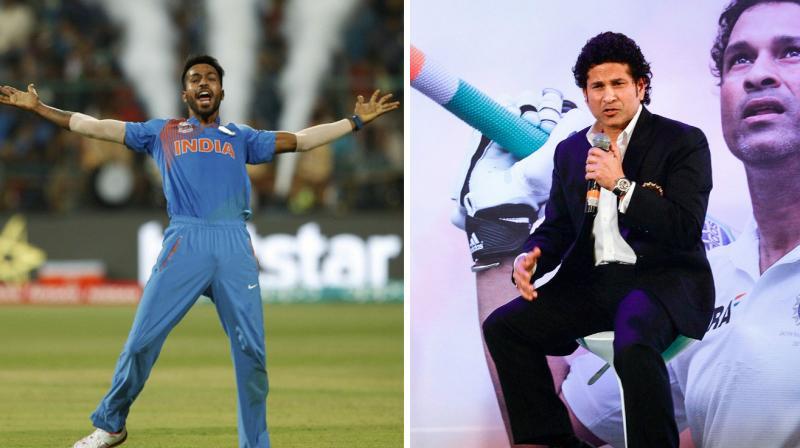 Sachin Tendulkar showed a great eye for talent with Hardik Pandya. (Photo: AP/ AFP)