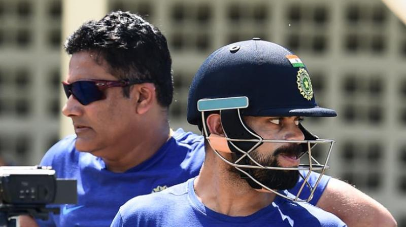 Talks had reportedly broken down between Virat Kohli and Anil Kumble, during one of the three meetings. (Photo: AFP)