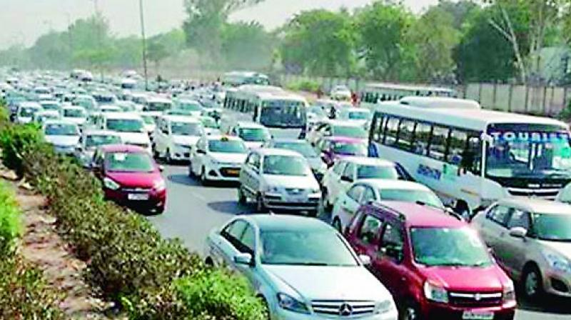 Indian auto sector's total sales also declined by 12.76 per cent to 21,76,136 units in October from 24,94,345 units solder during the corresponding month of the previous year.