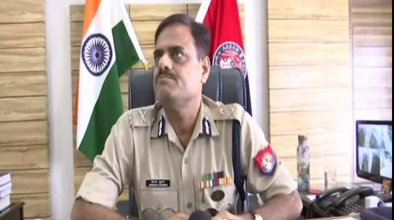 Guwahati Police Commissioner Deepak Kumar. (ANI)