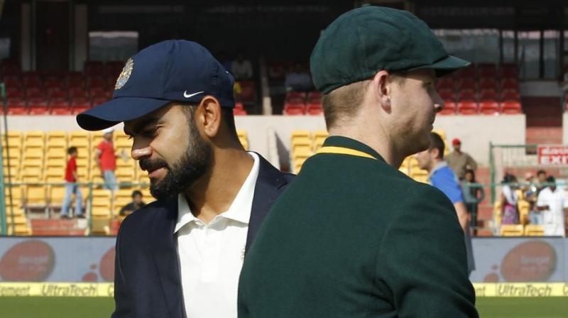 The documentary also claims to reveal spot-fixing -- rigging elements of play for betting purposes -- in Test matches between India and England at Chennai in December 2016, and India and Australia at Ranchi in March 2017. (Photo: BCCI)