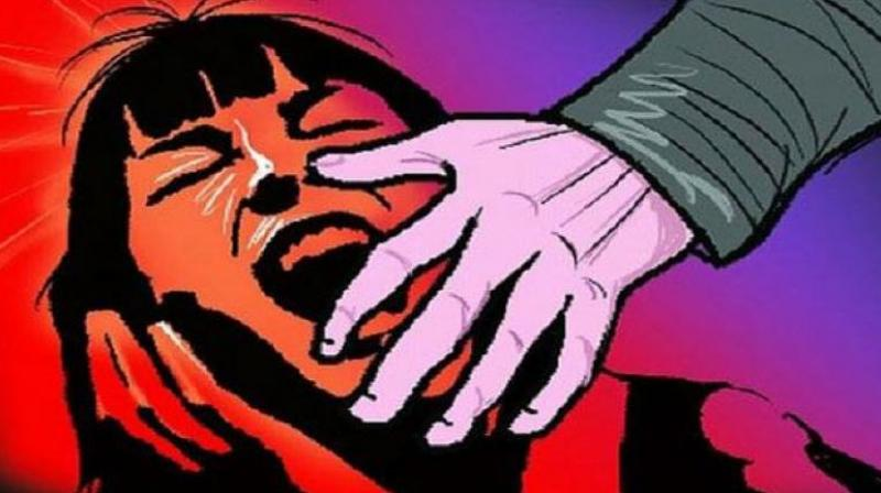A seven-year-old girl was allegedly raped by a 16-year-old boy in Vepagunta here on Friday, said police. (Representational Image)