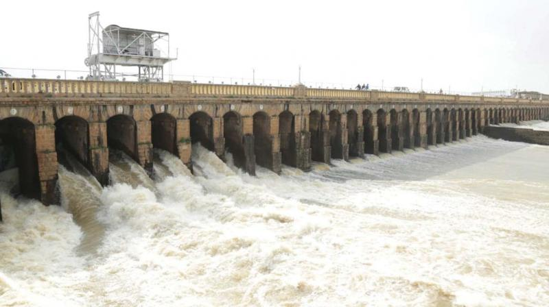 KRS dam situated in Srirangapatna taluk of Mandya district, is the lifeline of Mysuru-Mandya farmers and so it was a matter of concern that a big sound was heard near the dam two days ago. (Representational image)